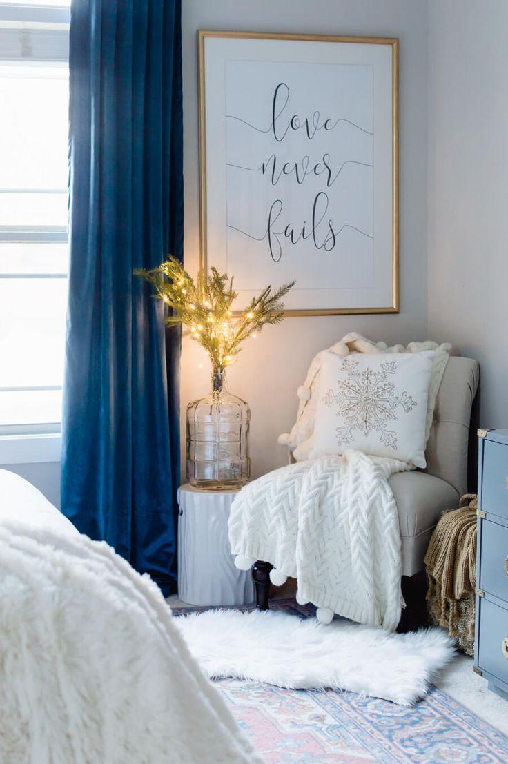 Cozy Reading Corner with lights Bedroom nook, Cozy reading