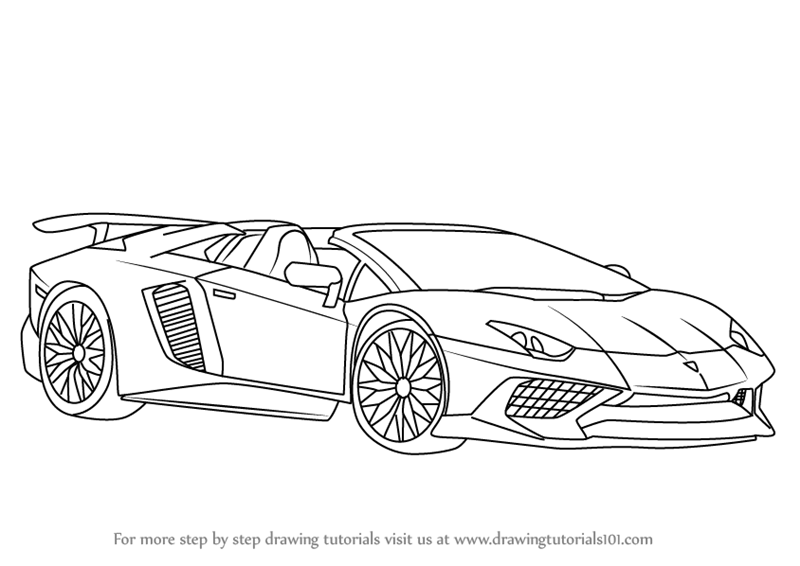 Pin By Emanuel On Dibujos Lamborghini Aventador Lamborghini Car Drawings