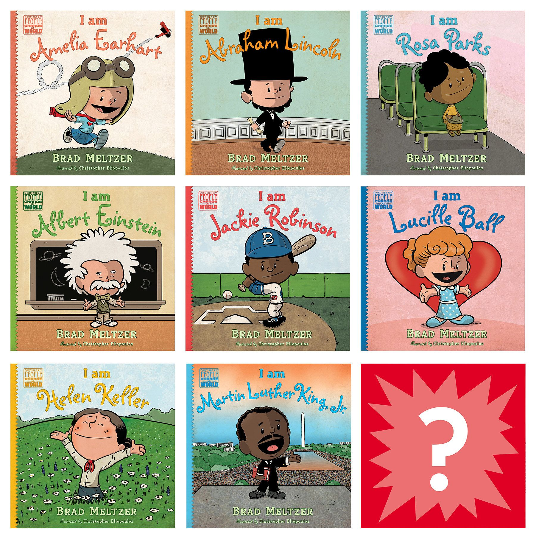 For 6 Year Olds Brad Meltzer S Ordinary People Change The