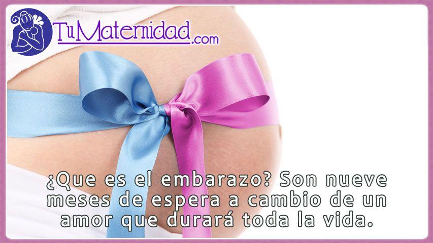 mensajes de embarazo