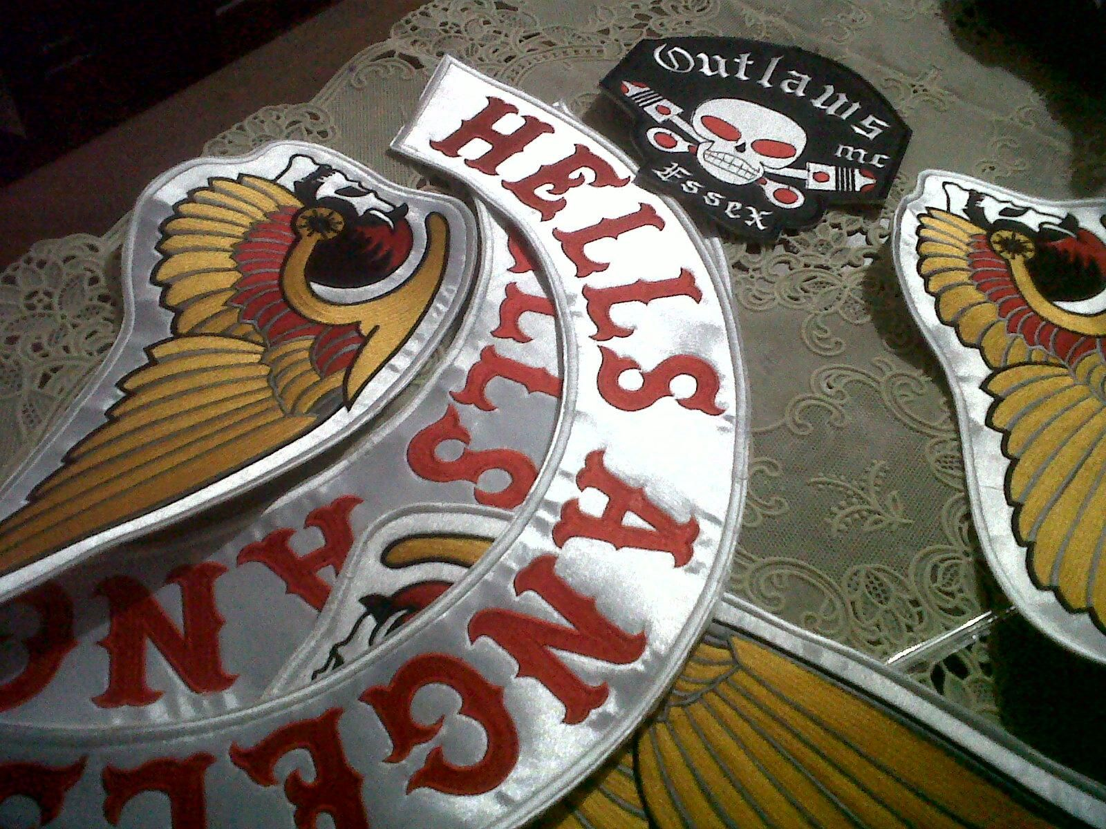 Image detail for -Motorcycle Club Hells Angels PATCH - Ad