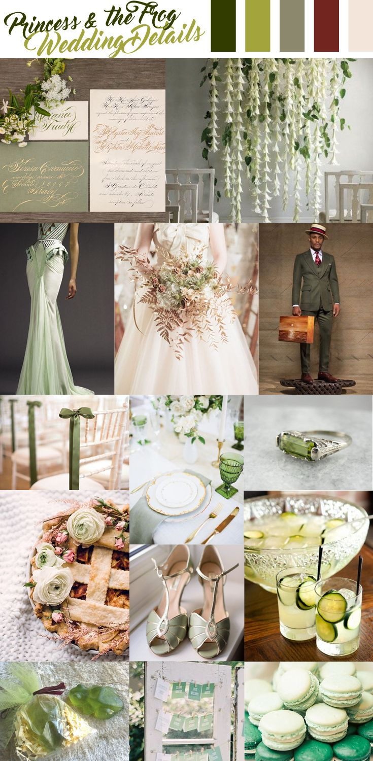 Tiana Princess And The Frog Wedding Inspiration Princess