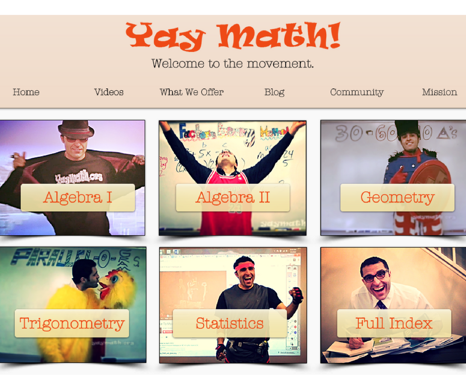 This fun website was founded by Robert Ahdoot, a high school math ...