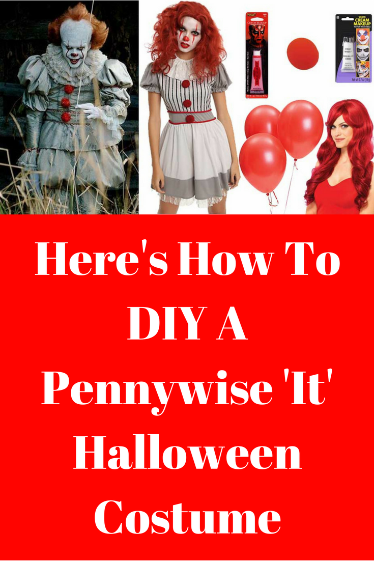 Here's How To Diy A Pennywise 'it' Halloween Costume