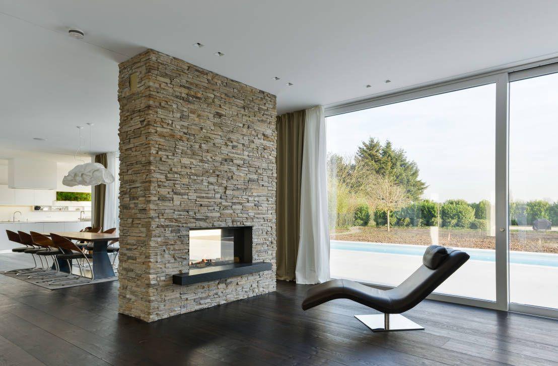 Wohnzimmer des modernen interieurs des hauses moderne offene wohnzimmer  minimalistisches haus design interieur