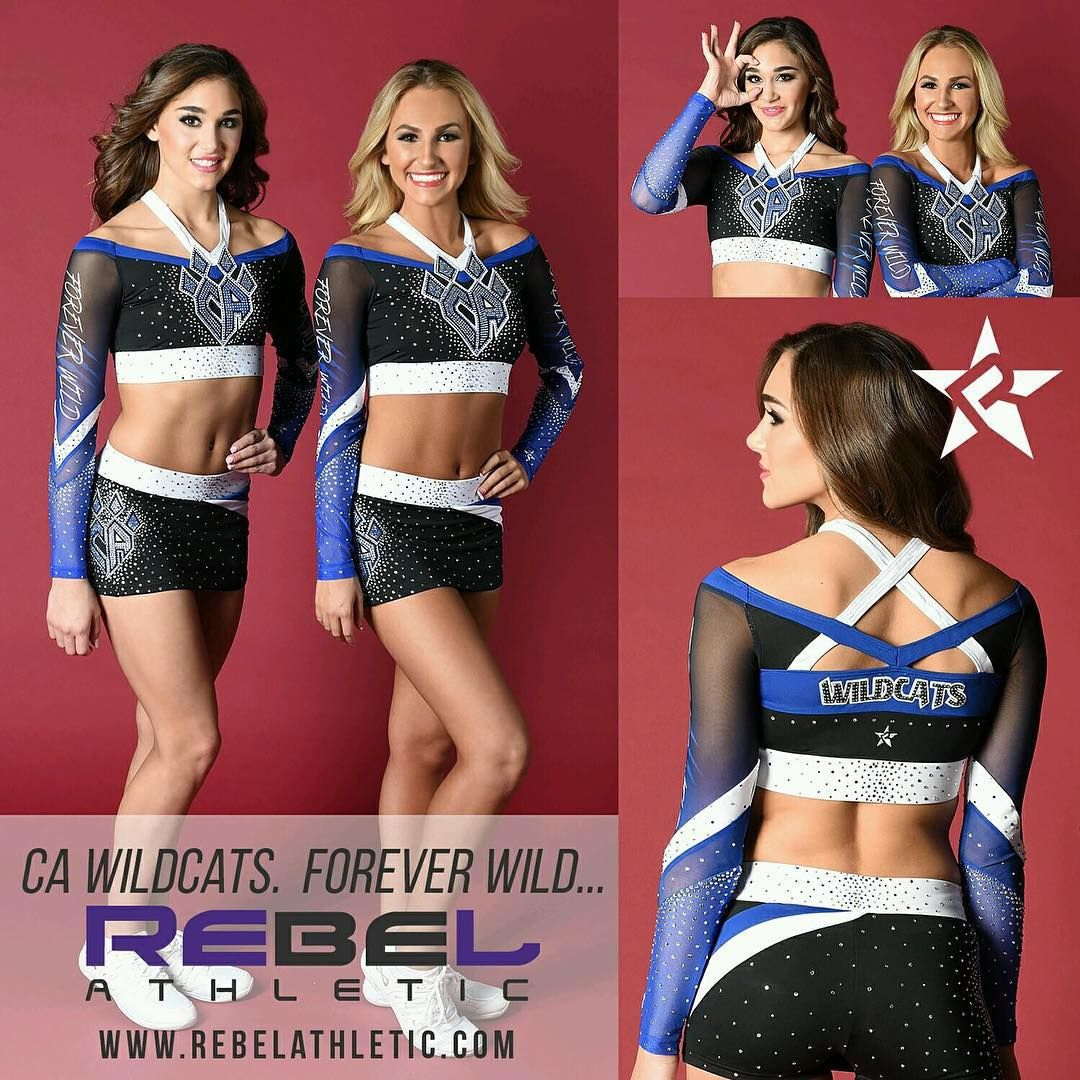 7d69d429db8b1b love these NEW UNIFORMS by  RebelAthletic for CHEER ATHLETICS WILDCATS!