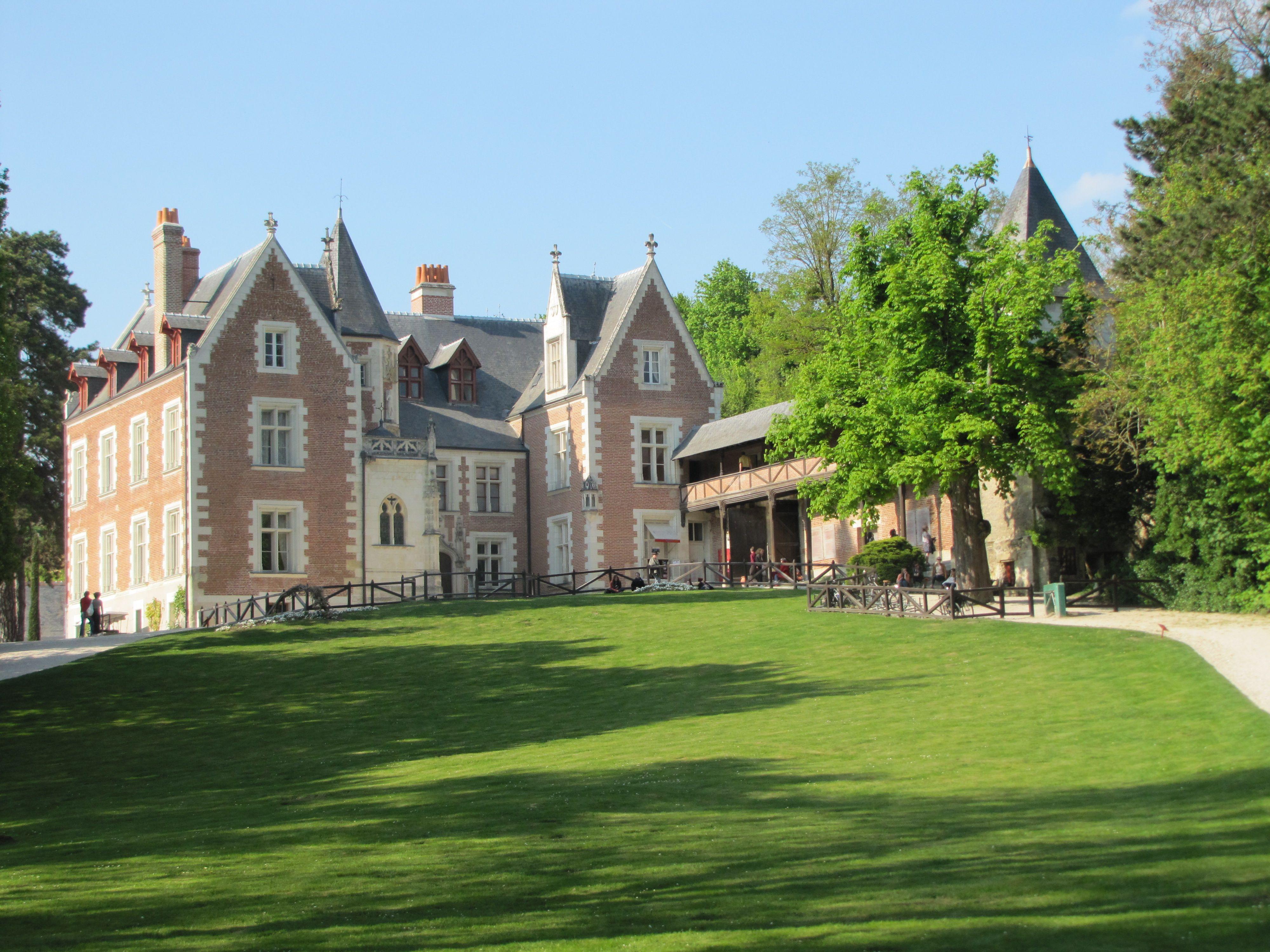 Leonardo Da Vinci Haus france, amboise, château of clos lucé - leonardo da vinci park