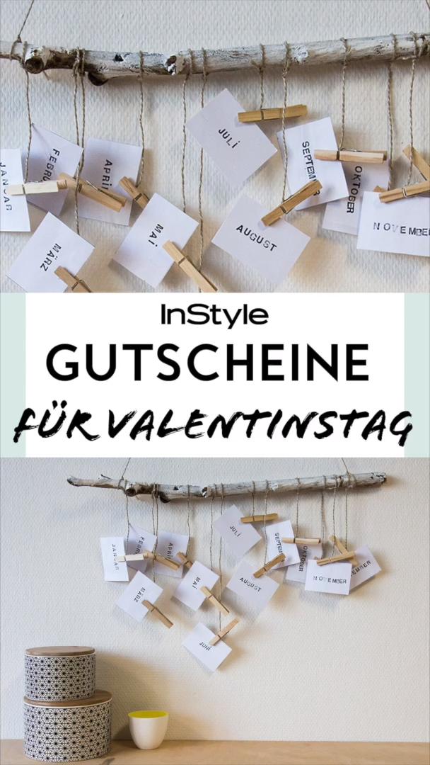 Photo of Gutschein-Geschenke für den Valentinstag: 2 DIYs, die jedem eine Freude machen