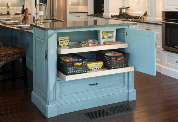 10 Stylishly Functional Kitchen Islands