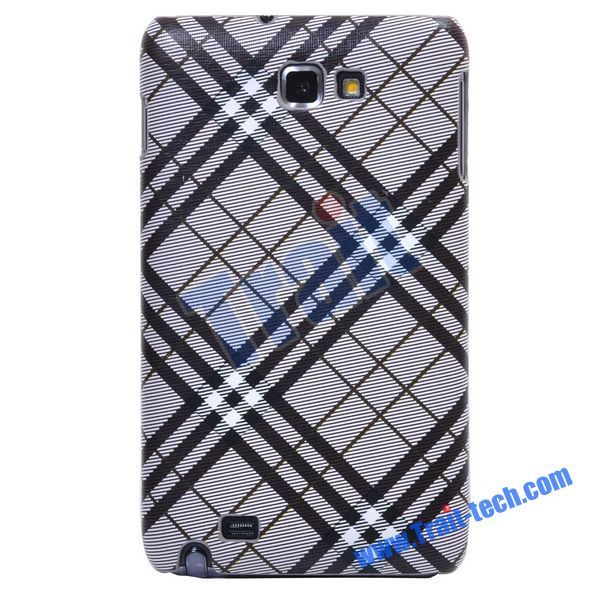 Hard Protective Back Cover for Samsung Galaxy Note GT-N7000 i9220 (Grey)