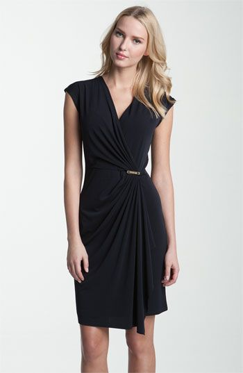 MICHAEL Michael Kors Cap Sleeve Wrap Dress | Nordstrom