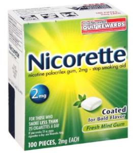 Free sample of nicorette fruit chill gum! Hip2save.