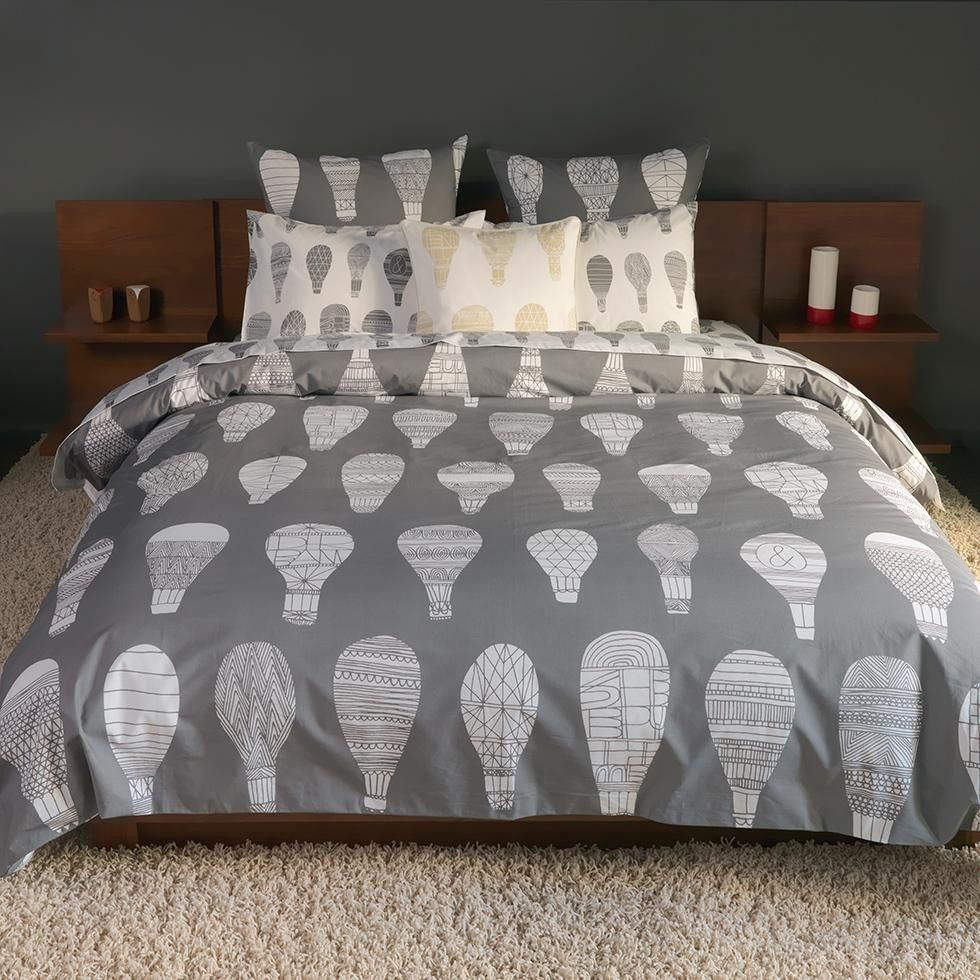 Float Graphite Duvet Cover Twin Kids twin bedding sets