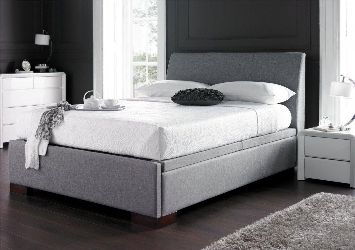 Monaco Upholstered Ottoman Storage Bed - Monaco Upholstered Ottoman Storage Bed Bedroom Pinterest
