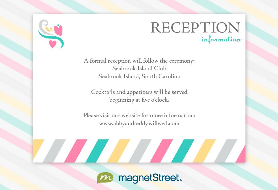 Reception Invitation Wording Wedding Reception Invitation