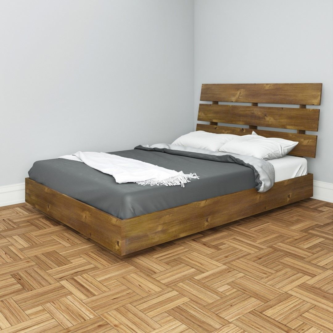 Nocce Full Size Platform Bed and Headboard Platform bed