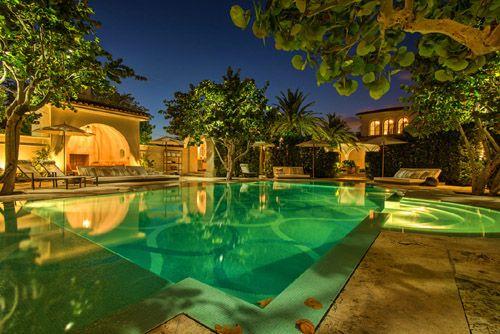 2013 08 20 Pool2lowres500pix Jpg Big Mansions Miami Beach Residence Mansions