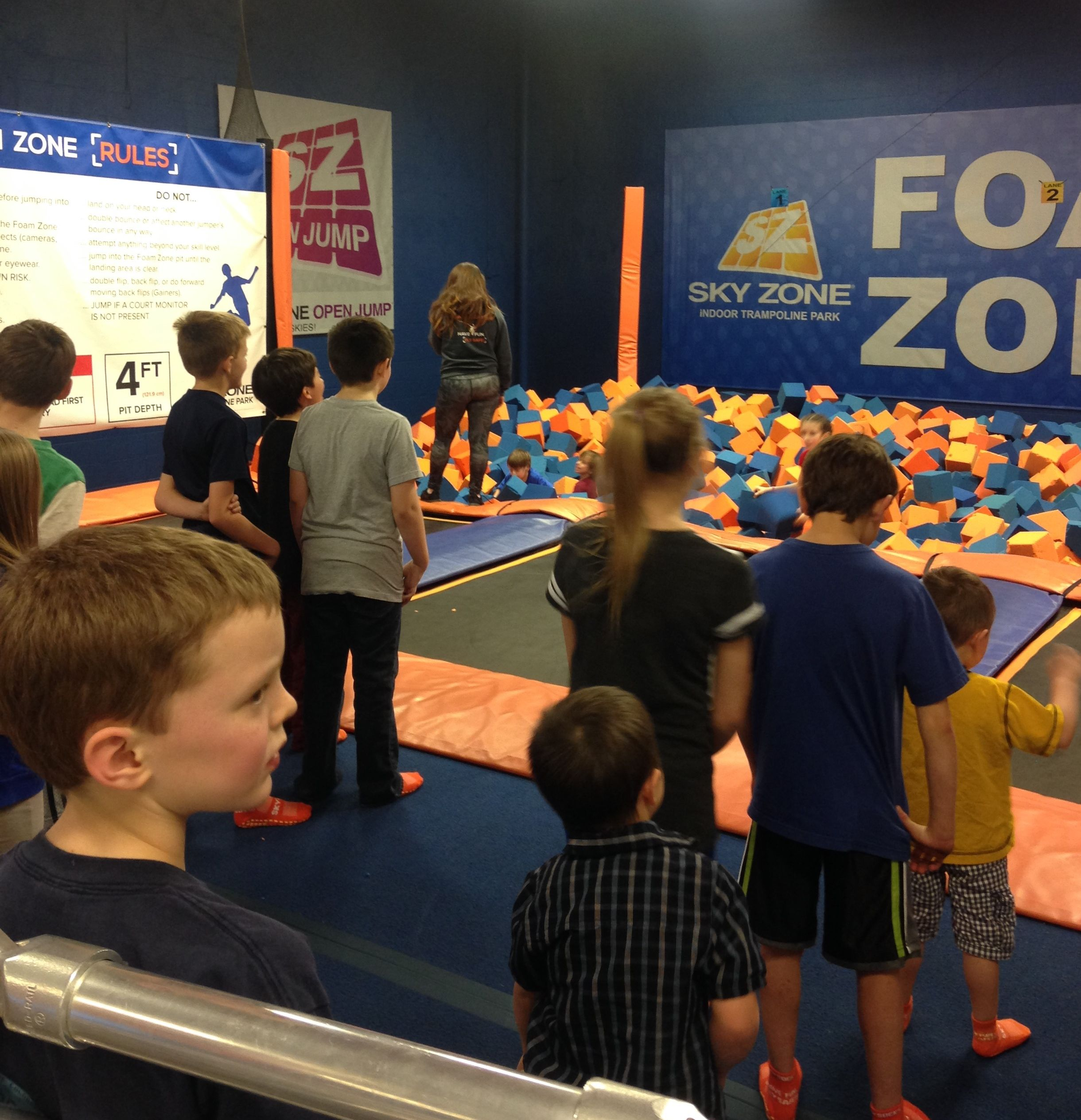 A Review Of My Sons Birthday Party At Sky Zone Colorado Springs