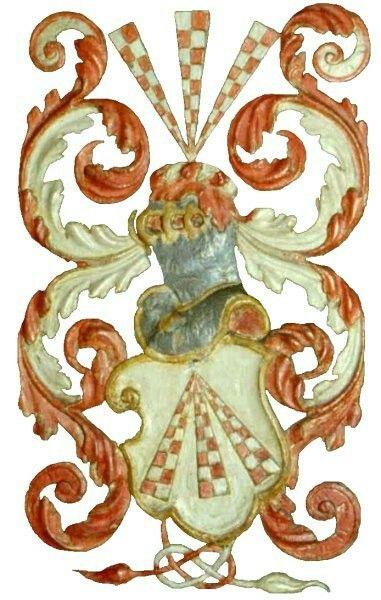 Familienwappen von Scharpenberg - Scharffenberg Von Scharpenberg - Scharffenberg Family Coat of Arms