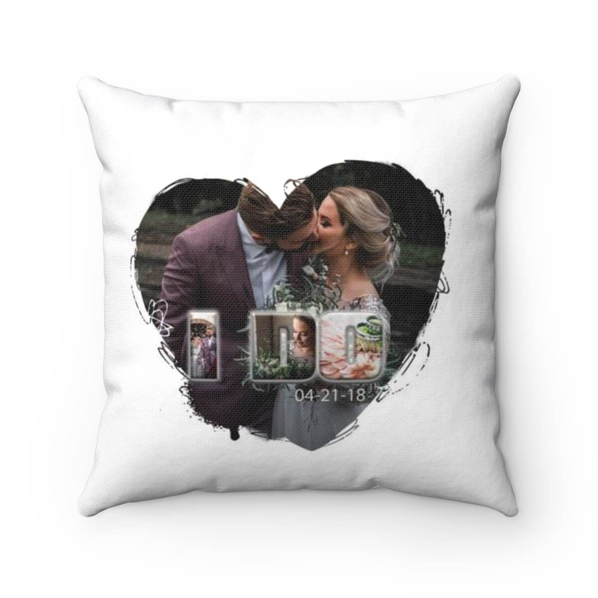 I Do Pillow - Personalized - 20x20