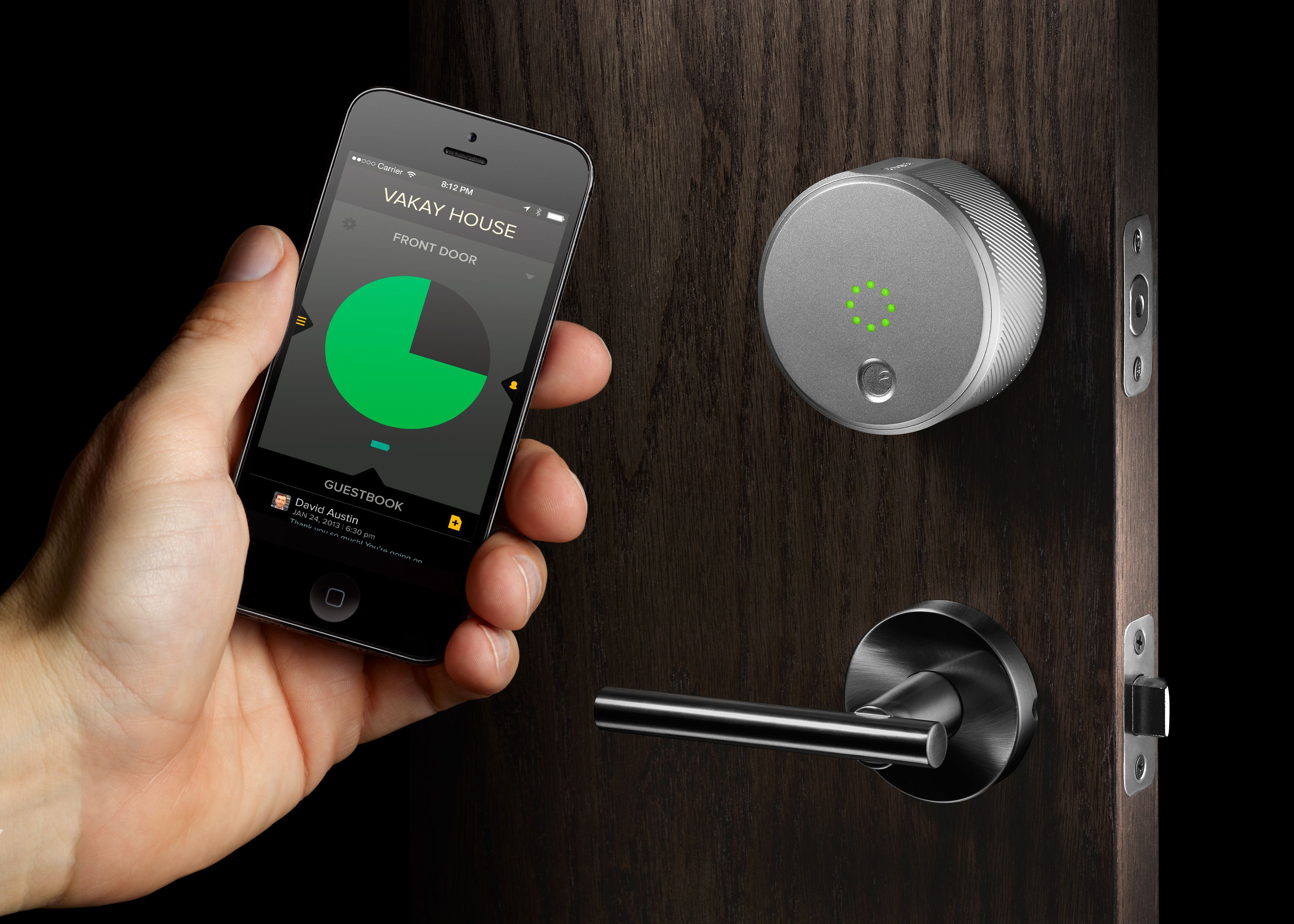 Auto-lock & unlock your door locks via the proximity of your iOS ...