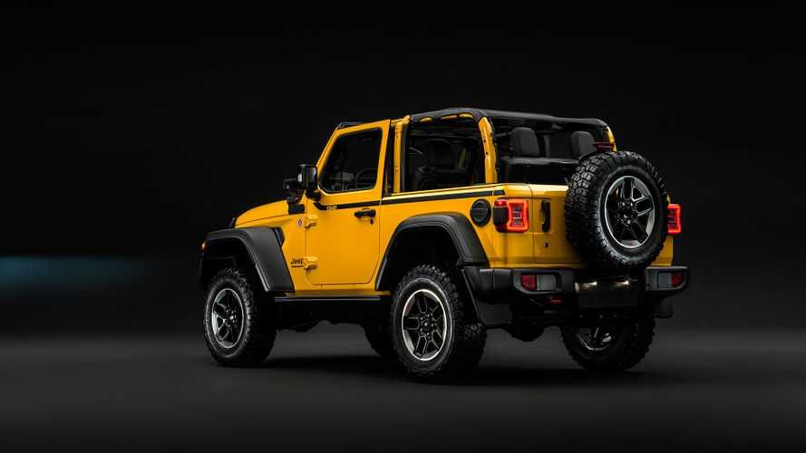 Jeep Wrangler Rubicon 1941 Edition Storms Europe Again With