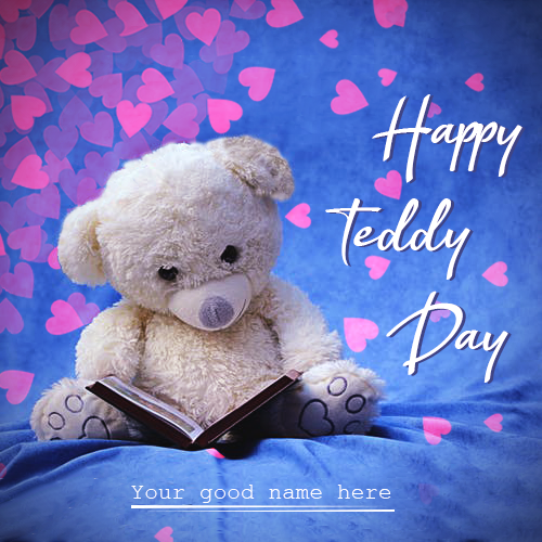 Finding To Latest And New Teddy Bear With Name Image For Free