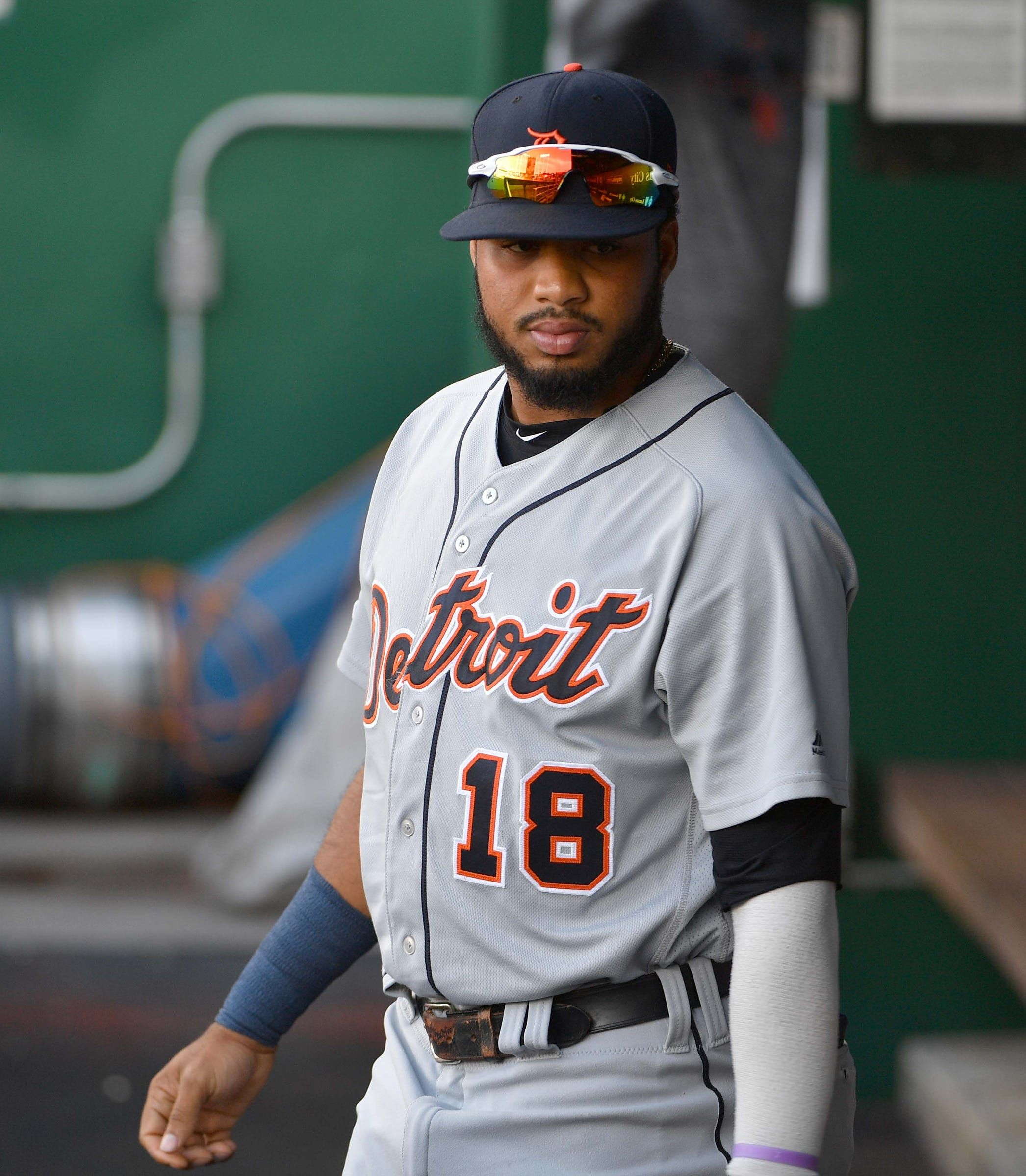 Detroit Tigers place Jeimer Candelario on injured list, call up ...