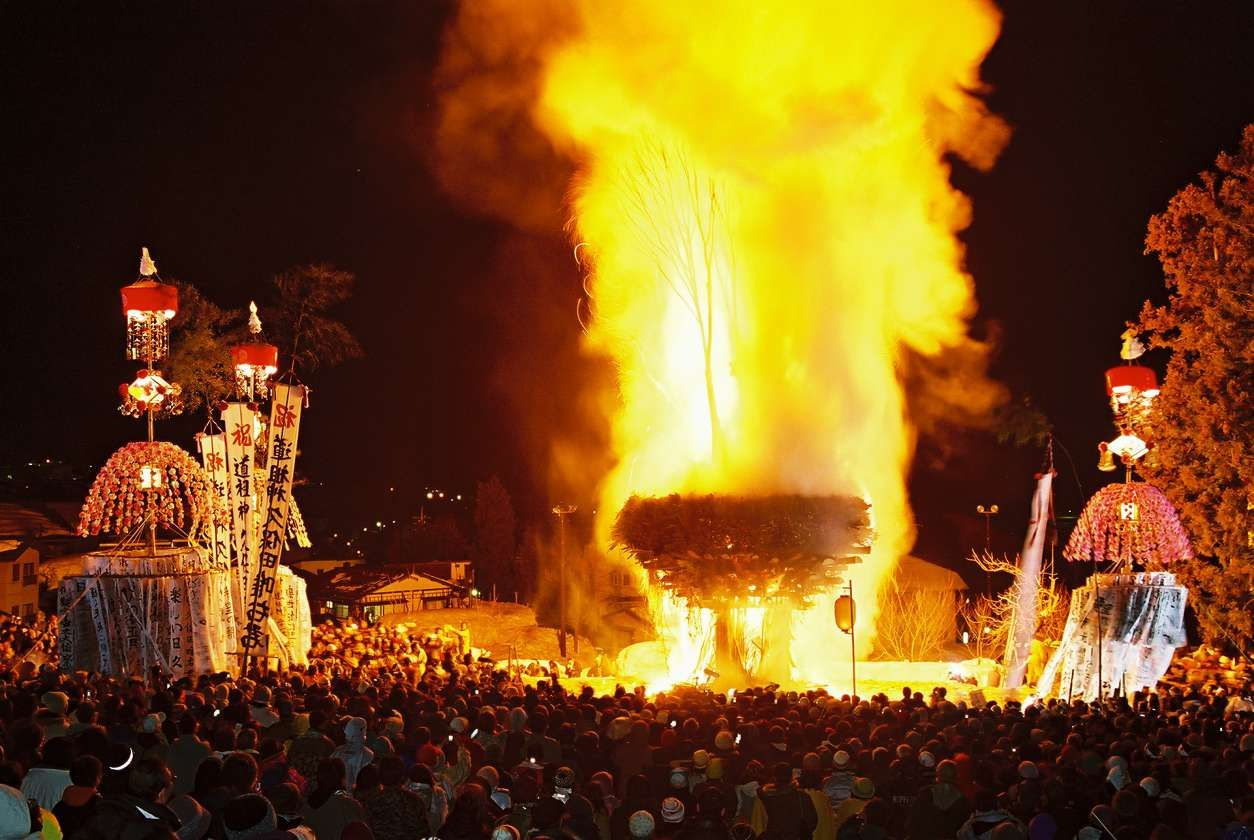 52 Places to Go in 2014 - NYTimes.com - Nozawa Onsen, Japan, Jan fire festival