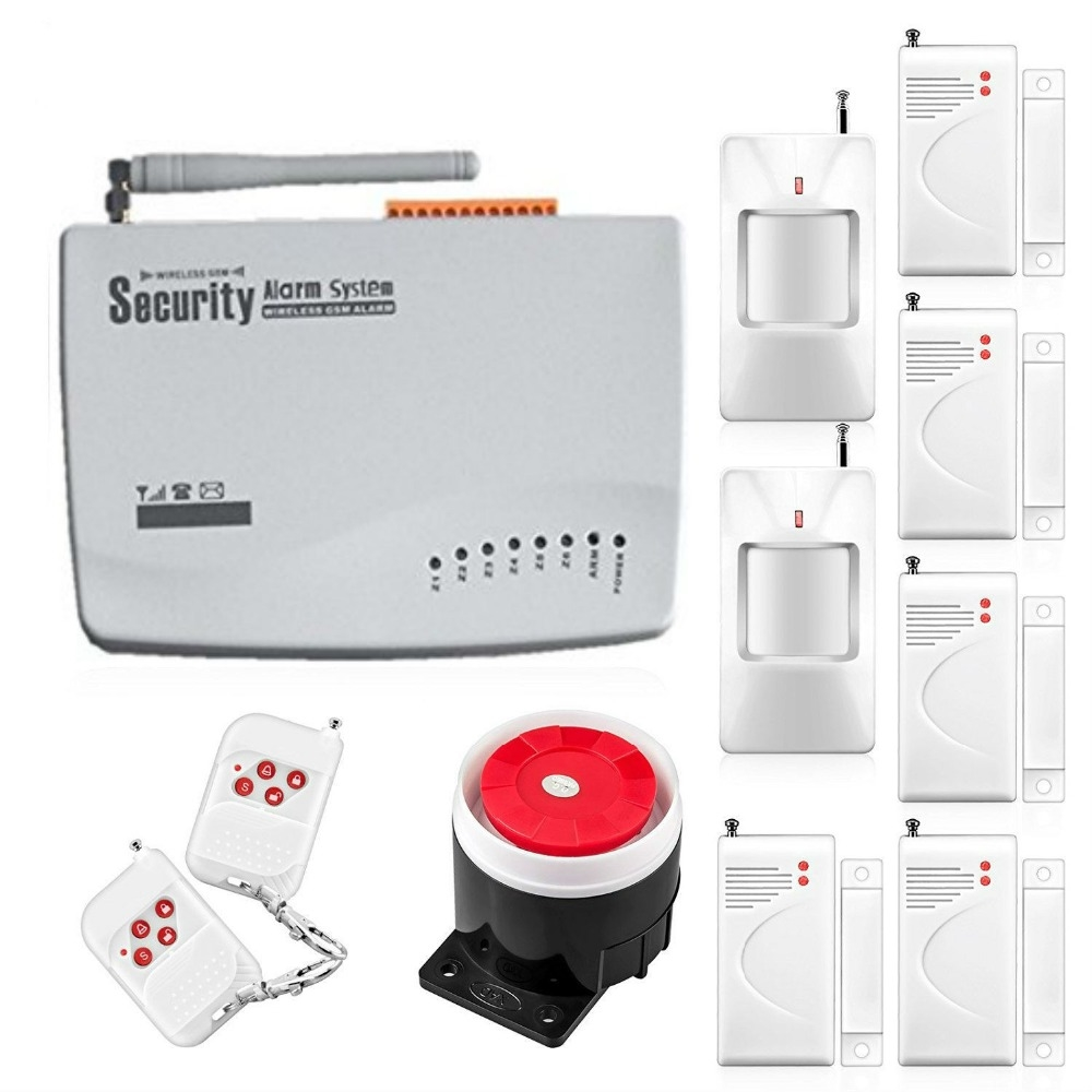 59.00$ Buy here - freeship 10A Wireless wired Home Security GSM ...