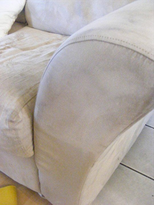 How To Clean The Kid Out Of Your Microfiber Couch ...