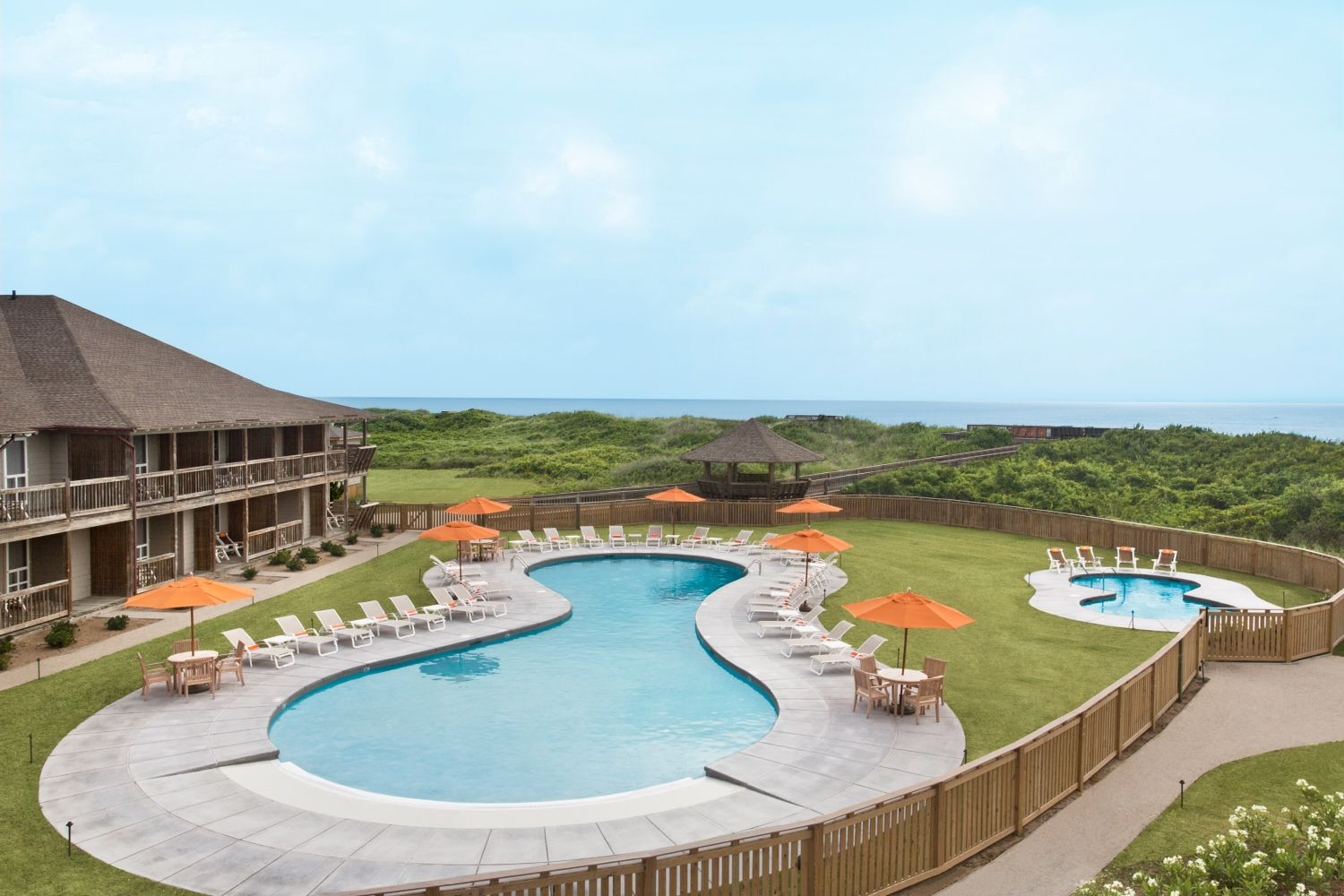 sanderling resort - duck, north carolina | pools i like