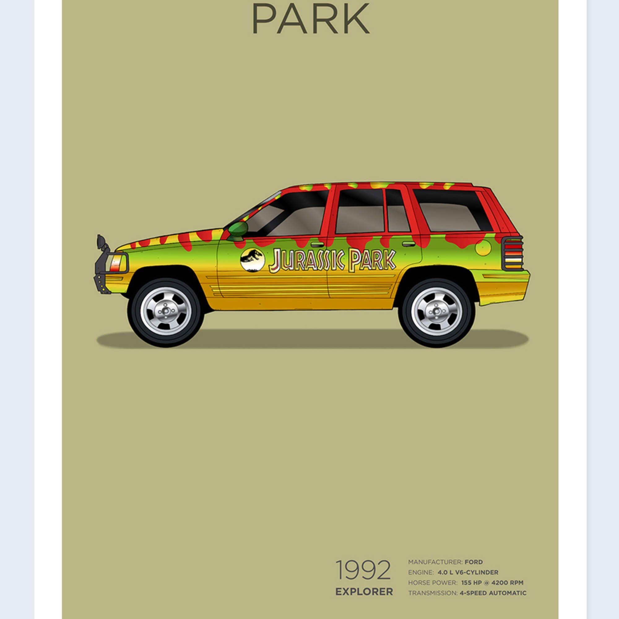 Jurassic Park 1992 Ford Explorer