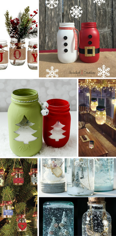 Best Mason Jar Christmas Decorations Bloggers Portal No Posting