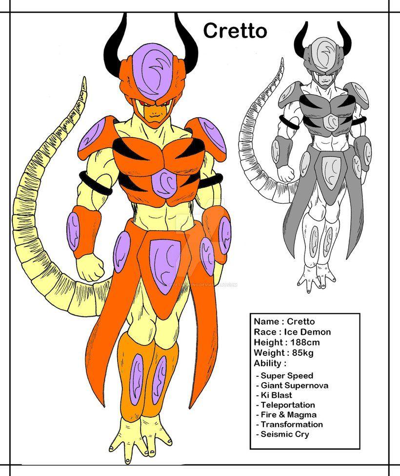 Dbmx Cretto The Leader Of Ice Demons By Cheetah King Dragon Ball Super Art Anime Dragon Ball Super Dragon Ball Super Goku