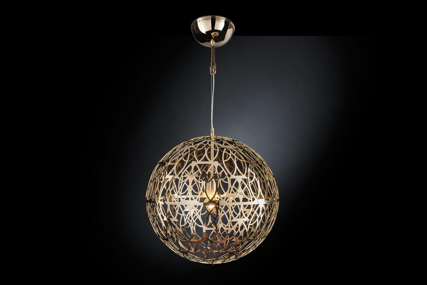 Vgnewtrend Italian Pendant Lamp Arabesque Marte 50 Design Made