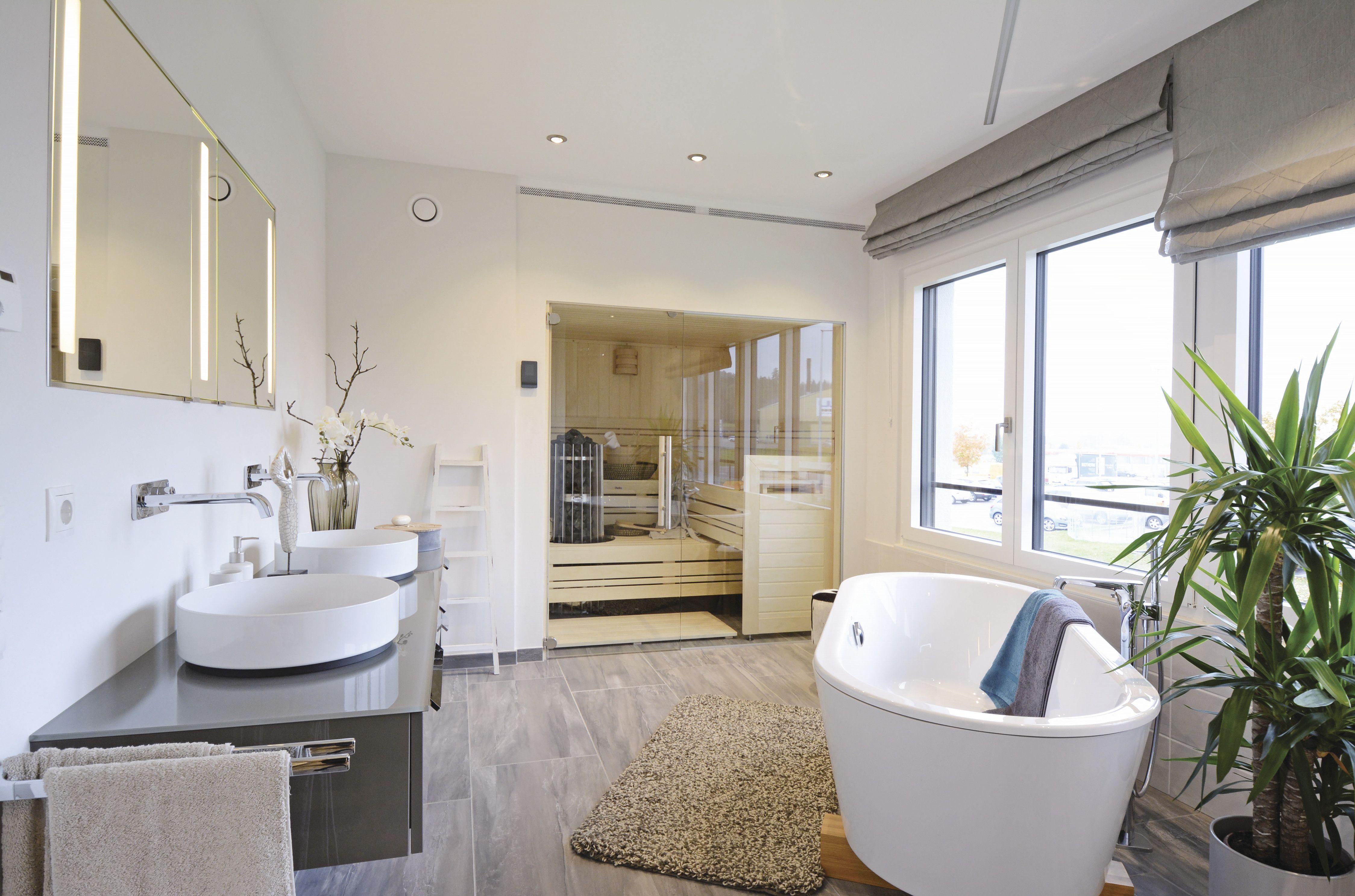 Badezimmer #bad #bathroom #fertighaus #traumhaus #weberhaus #prefab ...
