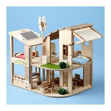 You Re A Natural Eco Friendly Dollhouse With Furniture