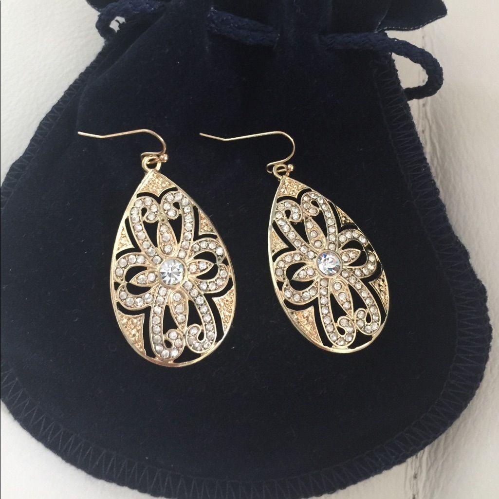 Nwot Beautiful Earrings