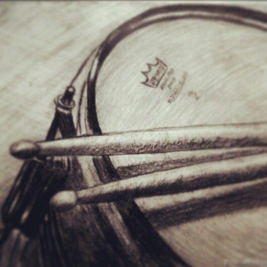 Pin by Akanksha Ramakrishnan on Art   Drums art, Drum ... Boy With Guitar Drawing