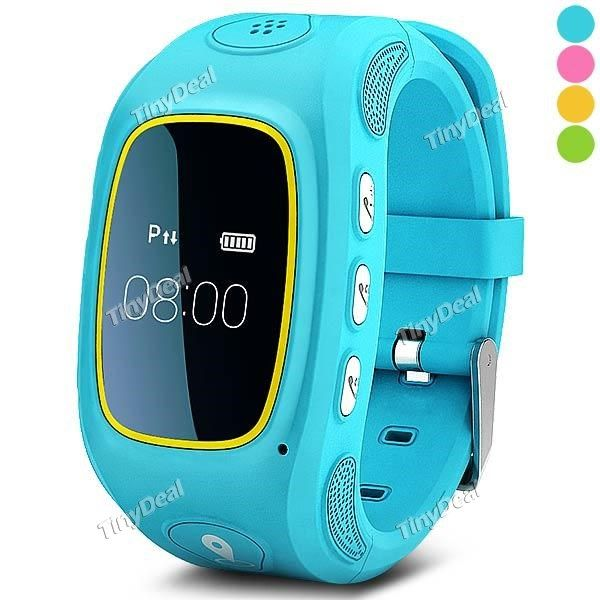 Qinmi Kid Smart Watch Phone Two-way Voice Conversation GPS LBS SOS Geo-fence Track Playback Remote Monitor E-490741