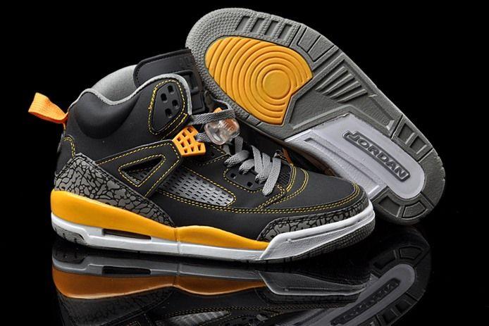 Mens Nike Air Jordan Spizike 3.5 Yellow Shoe Fashion Cheap