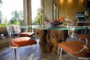 Tree Stump Tables Design Ideas, Pictures, Remodel and Decor