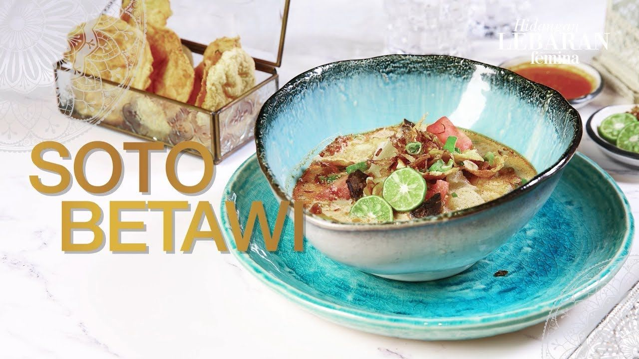 Step By Step Resep Soto Betawi Hidangan Lebaran Femina Resep Makanan Memasak Resep