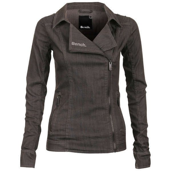Bench Womens Suzie Denim Biker Jacket And Other Apparel Accessories And Trends Browse And Shop 7 Related Look Bench Clothing Bench Jackets Denim Biker Jacket