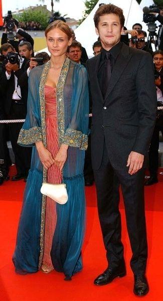 Diane Kruger Guillaume Canet At The 2002 Cannes Film Festival