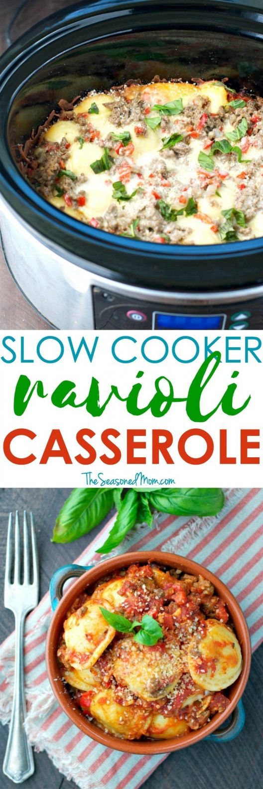 Buzzfeed Slow Cooker Ravioli Easy Slow Cooker Recipes Easy Slow Cooker