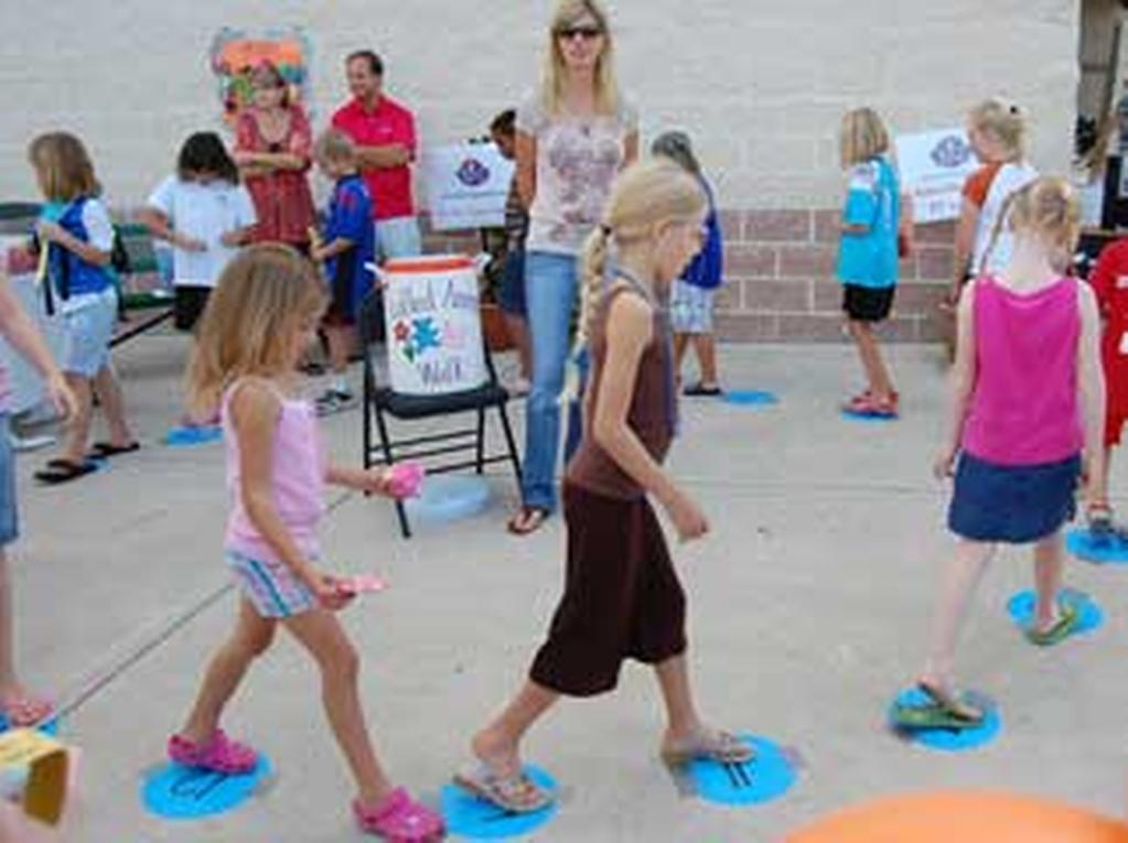 A cake or cupcake walk where parents donate cakes/cupcakes