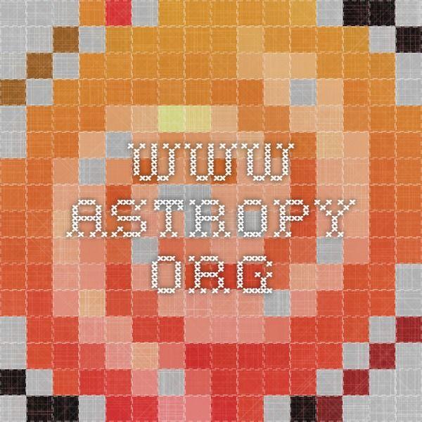 www astropy org   Algoritmos, Programación, Inteligencia