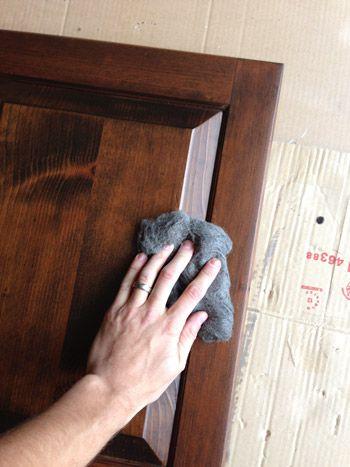 Using Polyshades To Darken Our Wood Cabinets | Para el hogar, Ideas ...